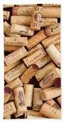 Collection Of Corks Bath Towel