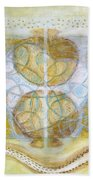 Collective Unconscious Three Equals One Equals Enlightenment Bath Towel