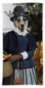 Collie Smooth - Smooth Collie Art Canvas Print - The Harvesters Bath Towel