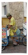 Colombia Srteet Cart II Bath Towel