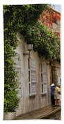 Colonial Buildings In Old Cartagena Colombia Bath Towel