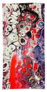 Color Burst Bath Towel