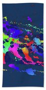 Color Chaos Hand Towel