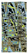 Color Combo Abstraction Bath Towel