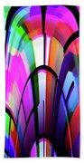 Color Gates Bath Towel by Mihaela Stancu