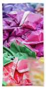 color pigments as an offering in the temple, Chennai, Tamil Nadu Bath Towel