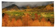 Colorado Fall Colors  Bath Towel