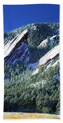 All Five Colorado Flatirons Bath Towel