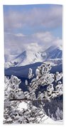 Colorado Sawatch Mountain Range Bath Towel