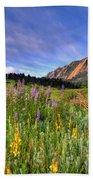 Colorado Wildflowers Bath Towel