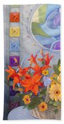 Colordance Of Summer Hand Towel