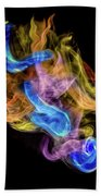 Colored Vapors Bath Towel by Rikk Flohr