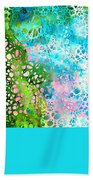 Colorful Art - Enchanting Spring - Sharon Cummings Bath Towel