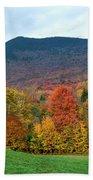 Autumnal Vermont Bath Towel