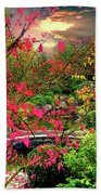 Colorful Autumn Bath Towel
