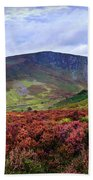 Colorful Carpet Of Wicklow Hills Bath Towel