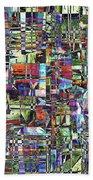 Colorful Chaotic Composite Bath Towel