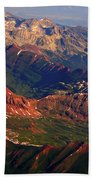 Colorful Colorado Planet Earth Bath Towel