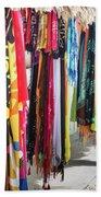 Colorful Dominican Garments Bath Towel