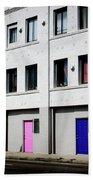 Colorful Doors- By Linda Woods Bath Towel