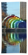 Colorful Downtown Orlando Bath Towel