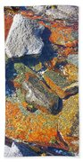 Colorful Earth History Bath Towel