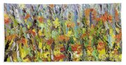 Colorful Forest Bath Towel