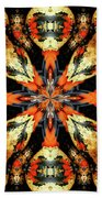 Colorful Gourds Abstract Bath Towel