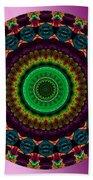 Colorful No. 4 Mandala Bath Towel