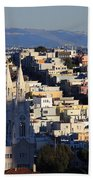 Colorful San Francisco Bath Towel
