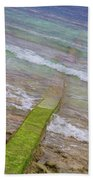 Colorful Seawall Bath Towel