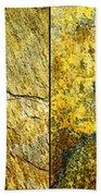 Colorful Slate Tile Abstract Composite H2 Bath Towel