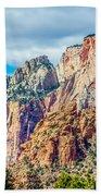 Colorful Zion Canyon National Park Utah Bath Towel