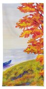 Colors Of The Fall Bath Towel