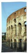 Colosseum Early Morning Bath Towel