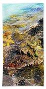 Colourful Sea Life - Fishers Point Bath Towel