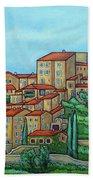 Colours Of Crillon-le-brave, Provence Bath Towel