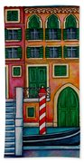 Colours Of Venice Bath Towel