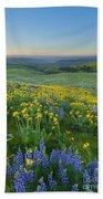 Columbia Hills Wildflower Dawn Bath Towel