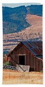 Columbia River Barn Bath Towel