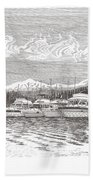 Columbia River Raft Up Bath Towel
