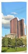 Columbus From The Park Hand Towel
