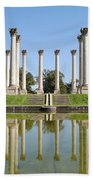 Column Reflection Bath Towel