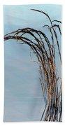 Combie Lake Reeds Bath Towel