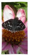 Common Checker Butterfly Bath Towel