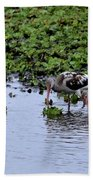Community Pond Bath Towel