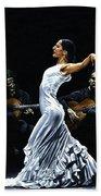 Concentracion Del Funcionamiento Del Flamenco Hand Towel