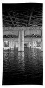 Concrete Bridge Bath Towel