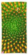Cone Flower Bath Towel