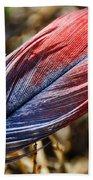 Congo African Grey Feather Bath Towel